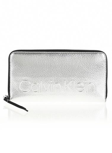 Calvin Klein Cüzdan Gümüş